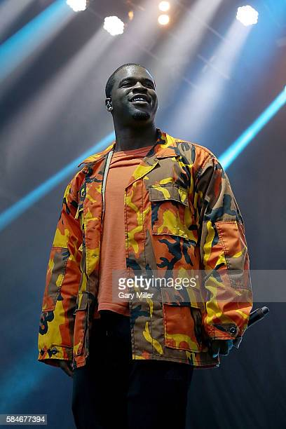 Ferg performs in concert on Day 2 of the 25th anniversary Lollapalooza at Grant Park on July 29 2016 in Chicago Illinois