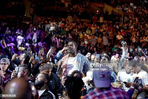 Ferg performs onstage at the STAPLES Center Concert Sponsored by SPRITE during the 2018 BET Experience on June 23 2018 in Los Angeles California