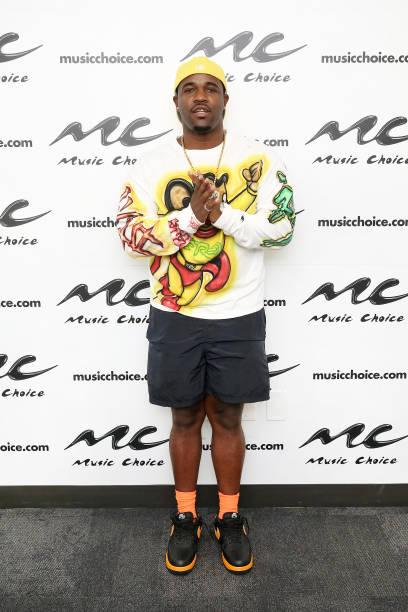 NY: A$AP Ferg Visits Music Choice