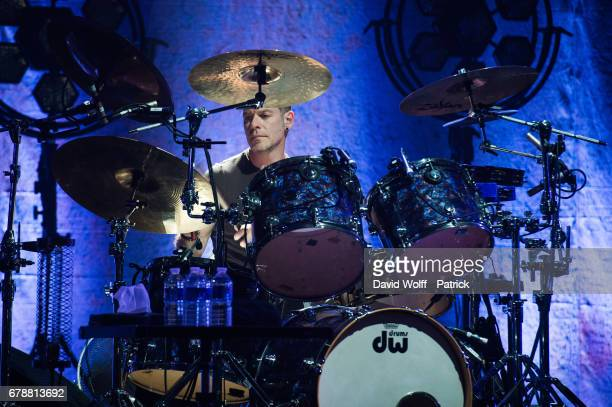 Fergal Lawler from The Cranberries performs at L'Olympia on May 4 2017 in Paris France