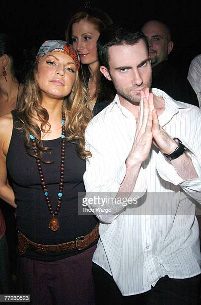 Fergie and Adam Levine of Maroon 5