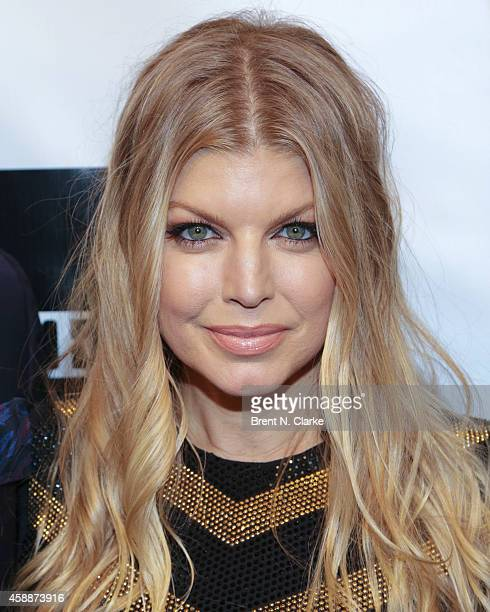 Fergie arrives at the 2014 Emery Awards at Cipriani Wall Street on November 12 2014 in New York City