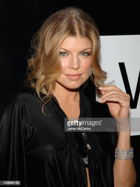 Fergie arrives to the 40th Anniversary of Wilhelmina Models at The Angel Orensanz Foundation inNew York November 29,2007