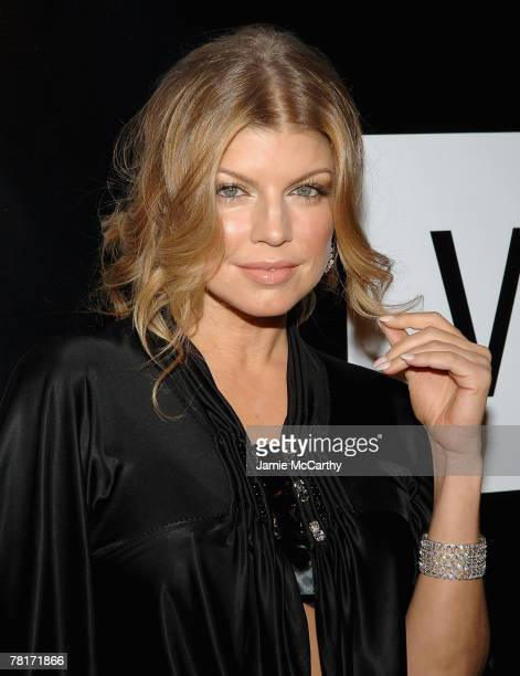 Fergie arrives to the 40th Anniversary of Wilhelmina Models at The Angel Orensanz Foundation inNew York November 292007