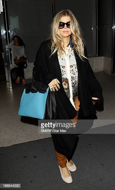 Fergie as seen on May 26 2013 in Los Angeles California
