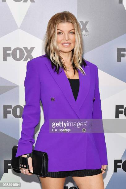 Fergie attends the 2018 Fox Network Upfront at Wollman Rink Central Park on May 14 2018 in New York City