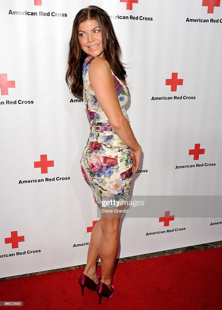 Fergie attends The American Red Cross Red Tie Affair Fundraiser Gala at Fairmont Miramar Hotel on April 17, 2010 in Santa Monica, California.