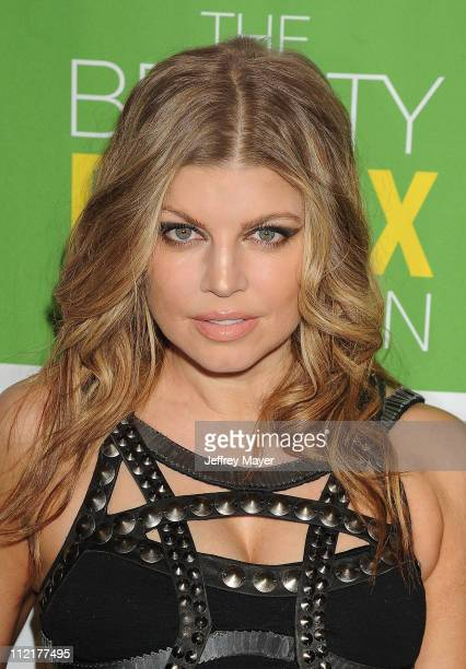Fergie attends the Kimberly Snyder Book Launch Party For 'The Beauty Detox Solution' at The London Hotel on April 13 2011 in West Hollywood California