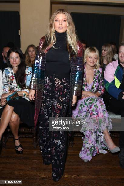 Fergie attends the Libertine Fall 2019 Runway Show at Ebell of Los Angeles on April 26, 2019 in Los Angeles, California.