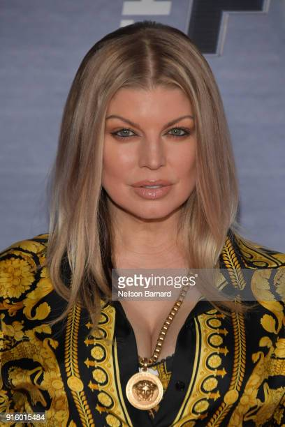 Fergie attends the season finale viewing party for FOX's 'The Four' at Delilah on February 8 2018 in West Hollywood California