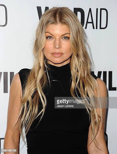 Fergie attends WildAid 2015 at Montage Hotel on November 7 2015 in Beverly Hills California