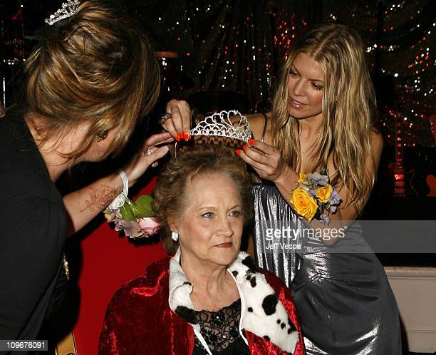 Fergie crowns Dorothy Stone Prom Queen during Sharon Stone and Kelly Stone Host the 1st Annual 'Class of Hope Prom 2007' Charity Benefit Red Carpet...