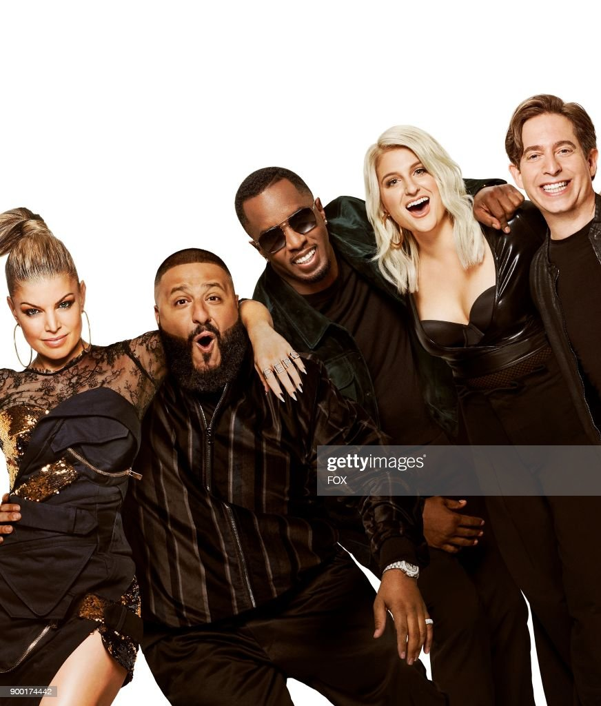 Fergie, Dj Khaled, Seas 'Diddy' Combs, Meghan Trainor and Charlie Walk. The six-episode event