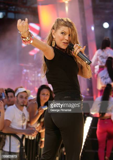 Fergie during 18th Annual MuchMusic Video Awards Show at Chum/City Building in Toronto Ontario Canada