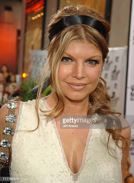 Fergie during 2006 MTV Video Music Awards Red Carpet at Radio City Music Hall in New York City New York United States