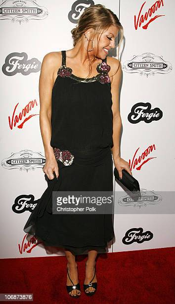 Fergie during Fergie's Birthday Celebration Hosted by Vavoom and Citizen Smith - March 29, 2006 at Citizen Smith in Hollywood, California, United...