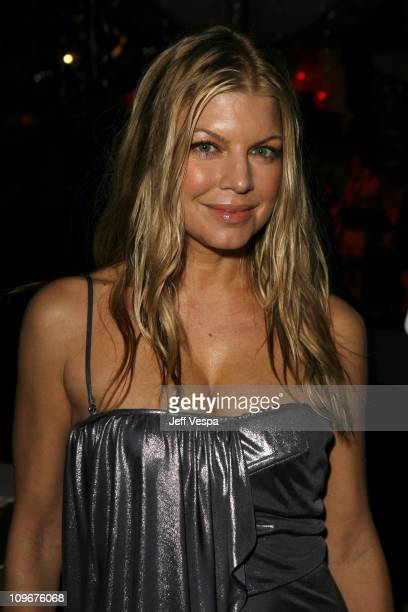 Fergie during Sharon Stone and Kelly Stone Host the 1st Annual 'Class of Hope Prom 2007' Charity Benefit Red Carpet and Inside at Sportsmen's Lodge...