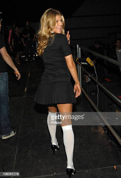 Fergie during VH1 Big in '06 Backstage and Front Row at Sony Studios in Culver City California United States