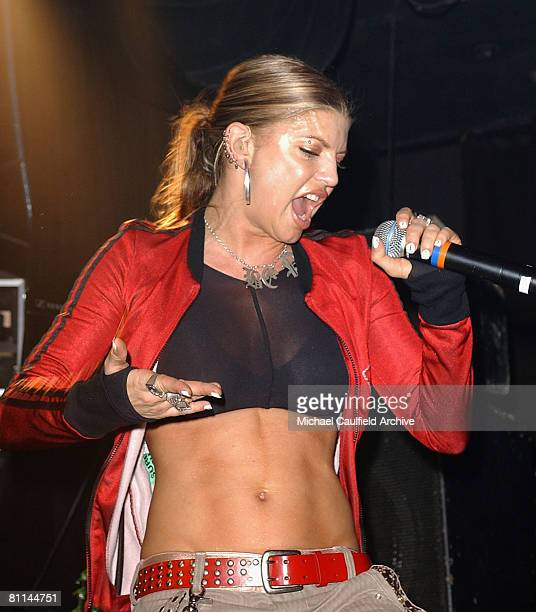 Fergie from the Black Eyed Peas