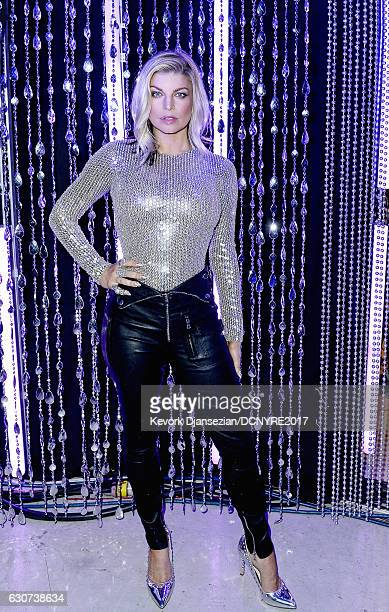 Fergie hosts Dick Clark's New Year's Rockin' Eve with Ryan Seacrest on December 31 2016 in Los Angeles California