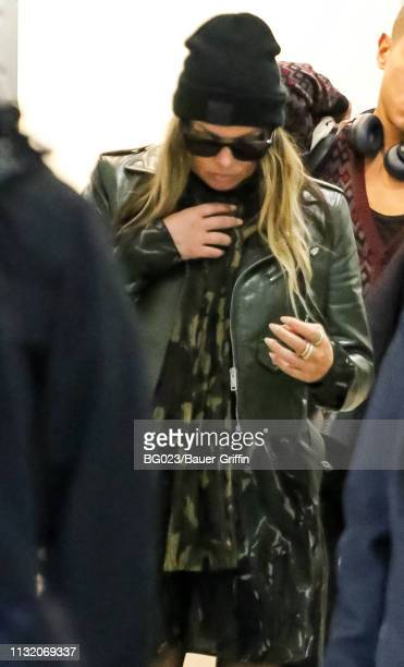 Fergie is seen on March 22, 2019 in Los Angeles, California.