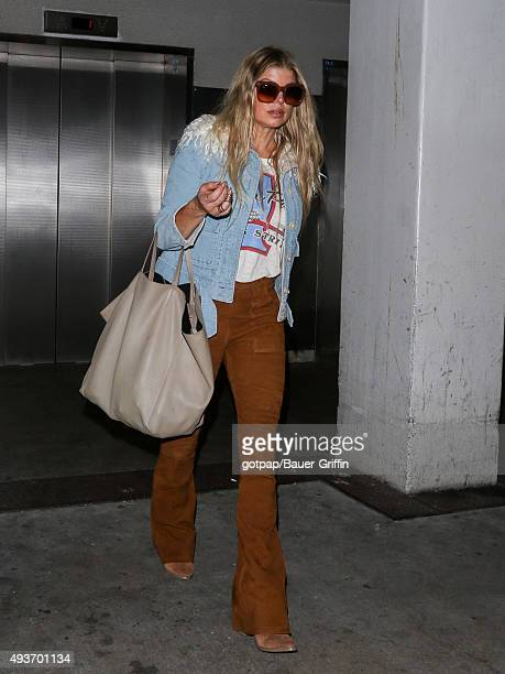Fergie is seen on October 21 2015 in Los Angeles California