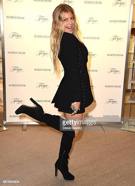Fergie Launches Fall 2015 Shoe Collection at Nordstrom at the Grove on September 12, 2015 in Los Angeles, California.