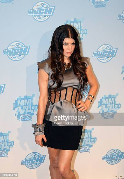 Fergie of Black Eyed Peas attends the MuchMusic Video Awards on June 21 2009 in Toronto Canada