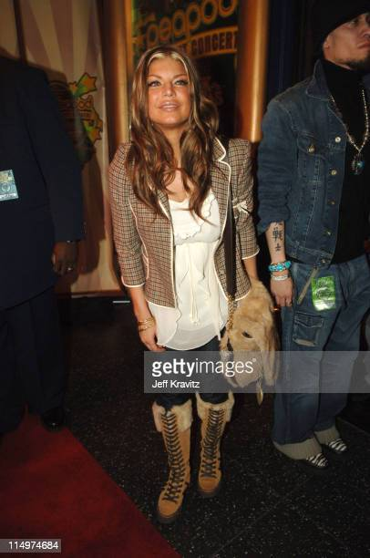 Fergie of Black Eyed Peas during Leblon Cachaca Presents The Peapod: A Concert Benefit with Black Eyed Peas - Red Carpet at Henry Fonda Music Box...
