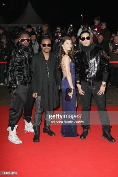 Fergie of The Black Eyed Peas arrives at NRJ Music Awards at the Palais des Festivals on January 23 2010 in Cannes France
