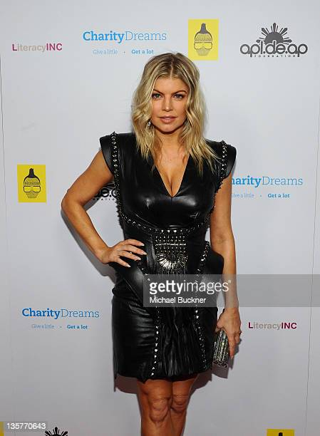 Fergie of the Black Eyed Peas attends APL.De.Ap's Birthday Celebration and Launch of Charity Dreams at The Conga Room at L.A. Live on December 13,...