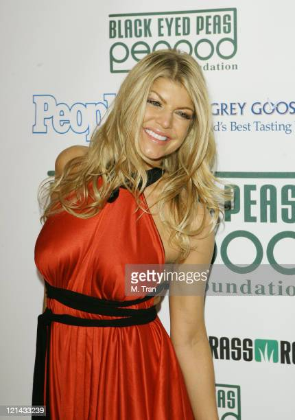 Fergie of The Black Eyed Peas during The Black Eyed Peas Presents The 3rd Annual Peapod Foundation Benefit Concert Honoring Jimmy Iovine Arrivals at...