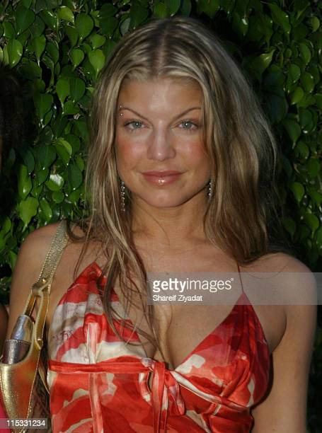 Fergie of the Black Eyed Peas during Video Music Awards Afterparty at Opium at Opium Nightclub in Miami United States