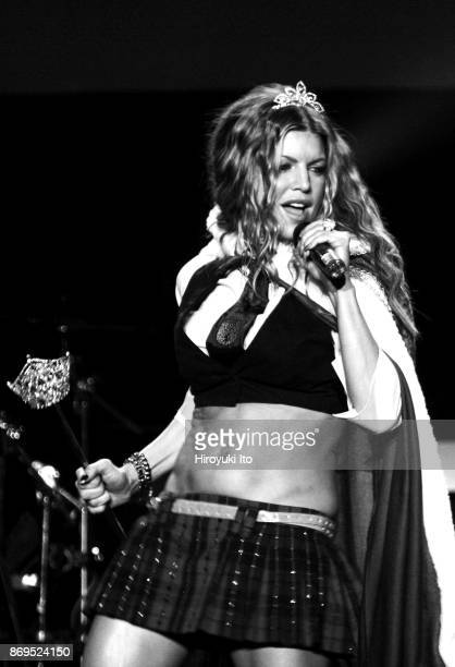 Fergie of the Black Eyed Peas performing solo concert at Roseland on Thursday night, June 21, 2007.