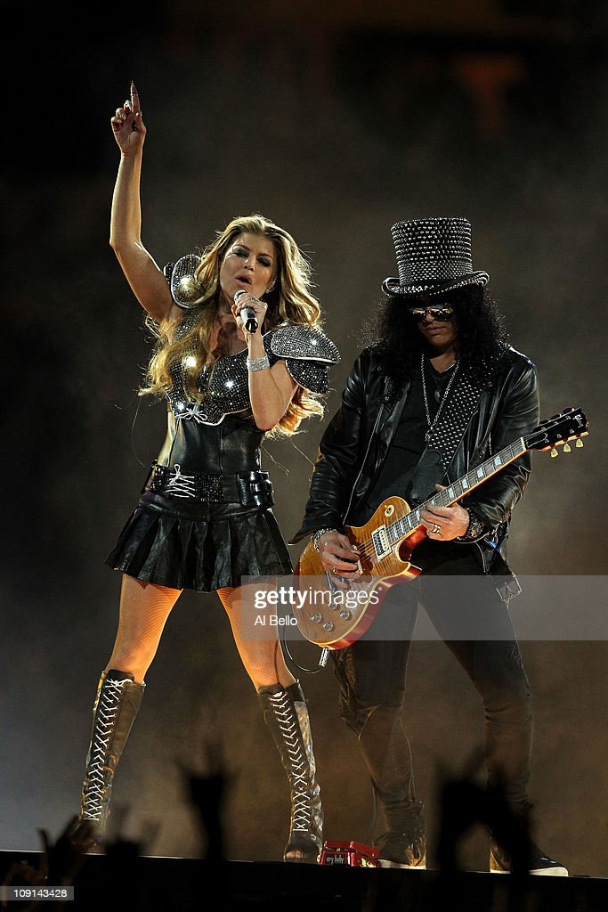 Bridgestone Super Bowl XLV Halftime Show : News Photo