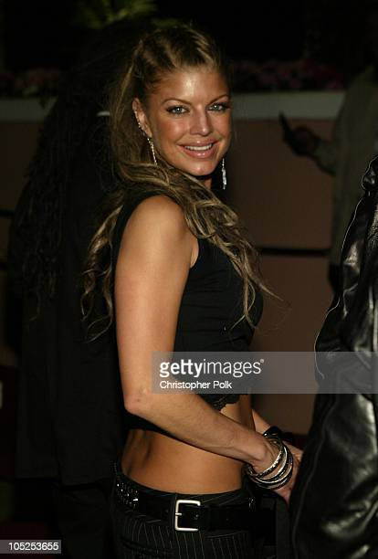 Fergie of the Black-Eyed Peas during Clive Davis Pre Grammy Party - Inside Arrivals at Beverly Hills Hotel in Beverly Hills, California, United...