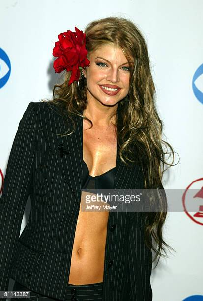 Fergie of the group Black Eyed Peas