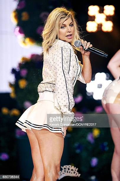 Fergie performs at Dick Clark's New Year's Rockin' Eve with Ryan Seacrest on December 31 2016 in Los Angeles California
