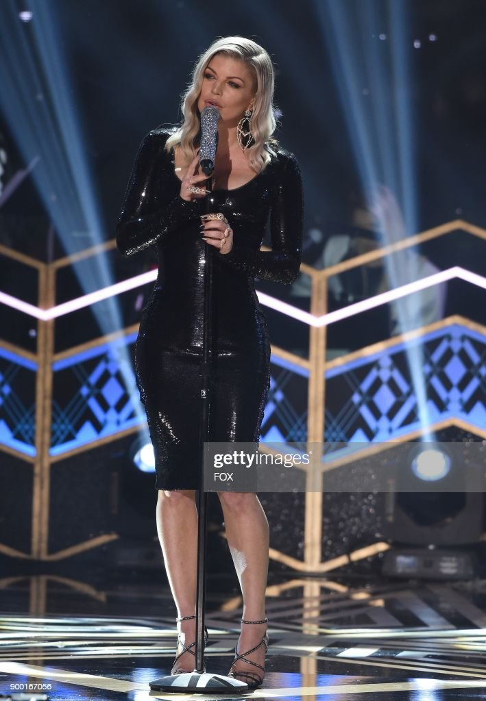 Fergie performs in the TARAJI'S WHITE HOT HOLIDAYS special airing Thursday, Dec. 14 (8:00-9:00 PM ET/PT) on FOX.