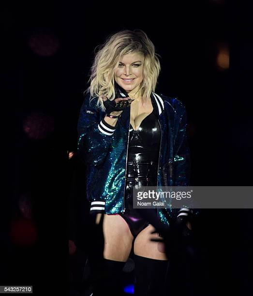 Fergie performs on stage during New York City Pride 2016 Dance On The Pier on June 26 2016 in New York City