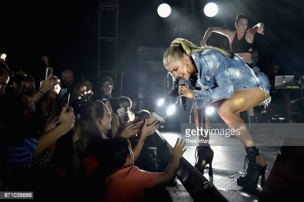 Fergie performs onstage at the weekend opening of The NEW ultraluxury Cove Resort at Atlantis Paradise Island on November 4 2017 in the Bahamas