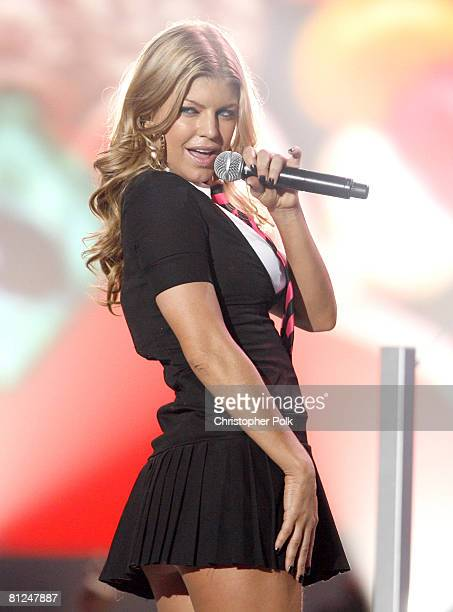 Fergie performs