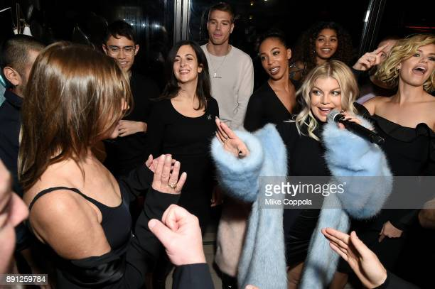 Fergie performs the CR Fashion Book Celebrating launch of CR Girls 2018 with Technogym at Spring Place on December 12 2017 in New York City