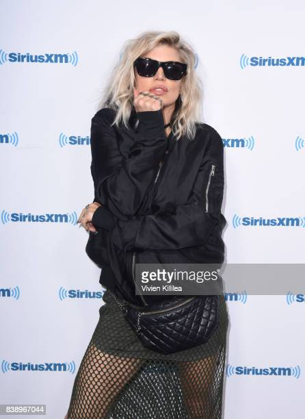 Fergie visits 'Hits 1 in Hollywood' on SiriusXM Hits 1 Channel at the SiriusXM Studios on August 18 2017 in Los Angeles California