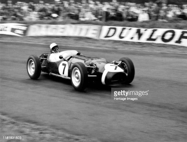Ferguson P99, Stirling Moss at Oulton Park. Creator: Unknown.