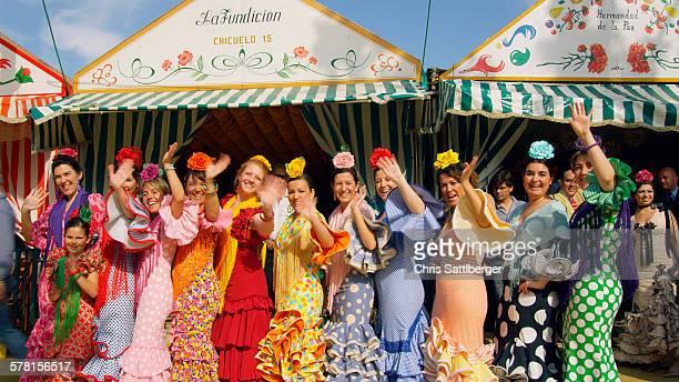 Feria de Sevilla, the annual spring 'fiesta'