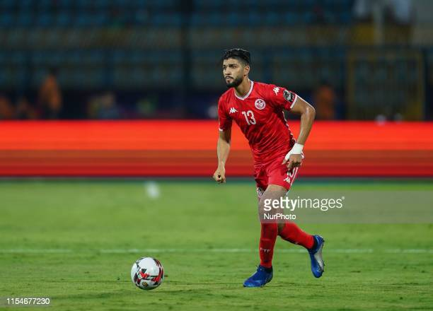 Ferjani Sassi of Tunisia during the 2019 African Cup of Nations match between Ghana and Tunisia at the Ismailia Stadium in Ismailia, Egypt on July...