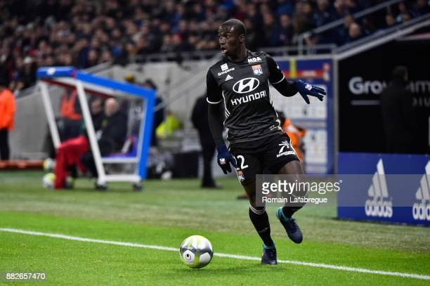 Ferland Mendy of Lyon during the Ligue 1 match between Olympique Lyonnais and Lille OSC at Parc Olympique on November 29 2017 in Lyon