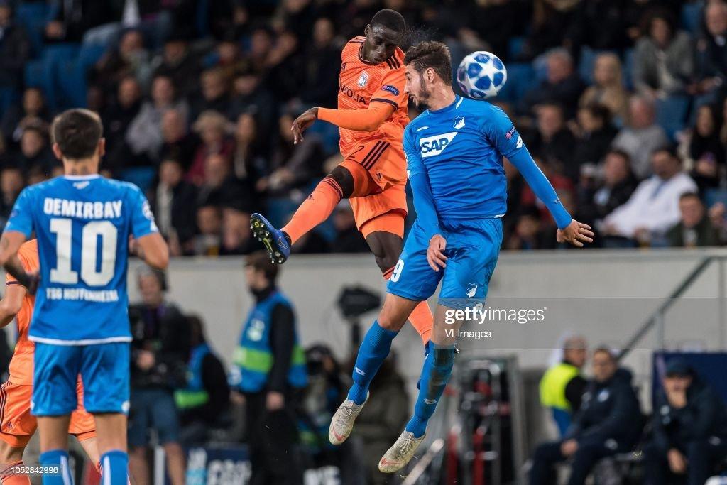 "UEFA Champions League""TSG 1899 Hoffenheim v Olympique Lyonnais"" : News Photo"