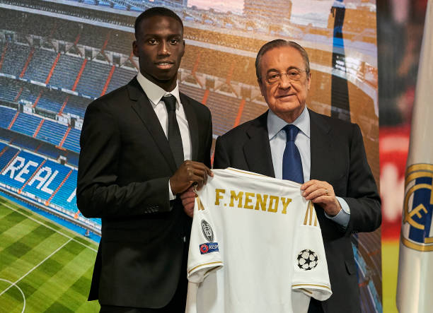 ESP: Real Madrid Unveil New Player Ferland Mendy